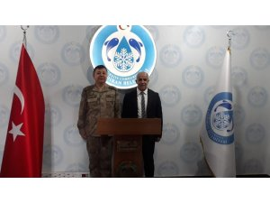 Tuğgeneral Yiğit'ten Başkan Ensari'ye ziyaret