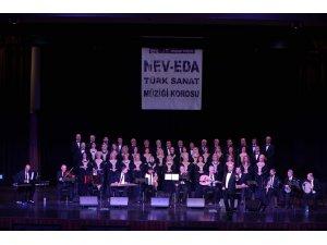 Nev-Eda Türk Sanat Müziği Korosu performansı ile alkış aldı
