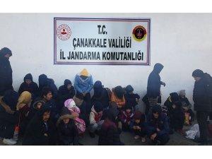 Çanakkale'de 30 mülteci yakalandı