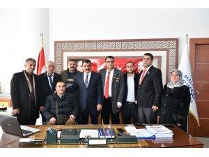 Başkan Gürkan'an gazi ve şehit yakınlarına tam destek