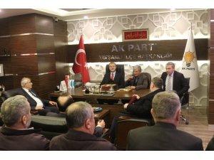 AK Parti İl Başkanı Sebahattin Ceyhun'dan Tavşanlı ziyareti