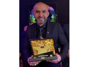 Ünlü pizzacı Türkiye'de ödül aldı