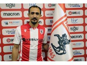 Samsunspor Burak Çalık ile 1,5 yıllık sözleşme imzaladı