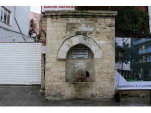 Kapıağası Mustafa Ağa Çeşmesi'nde onarım çalışmaları başladı