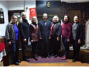 Başkan Ataç'ın STK temasları sürüyor