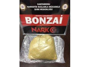 Kastamonu'da 195 gram bonzai maddesi ele geçirildi