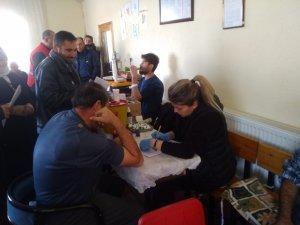 Ayvazhacı mahallesinde 6 ünite kan bağışı yapıldı