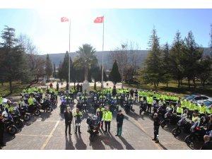 Muğla'da motosikletli trafik tim sayısı 75'e çıktı