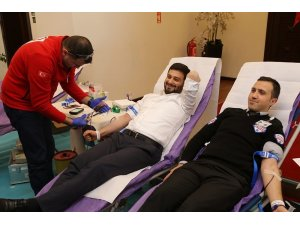Kağıthane Belediyesinden kan bağış kampanyası