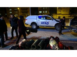 AFAD ekipleri Elazığ'a sevk edildi
