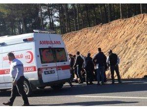 Kahramanmaraş'ta trafik kazası: 26 yaralı