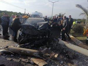 Hatay'da trafik kazası: 5 yaralı
