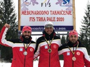 Vanlı kayakçı Balkan ikincisi oldu