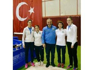 Masa tenisinde Büyükşehir ilk devreyi lider tamamladı