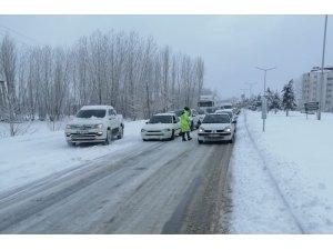 Kahramanmaraş-Kayseri karayolu trafiğe kapandı