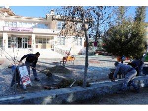Menteşe Belediyesi'nden Şemsiana Ana Okulunda bakım ve onarım çalışması