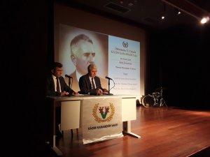 Şark cephesi kumandanı Kâzım Karabekir Paşa'yı anma programı düzenlendi