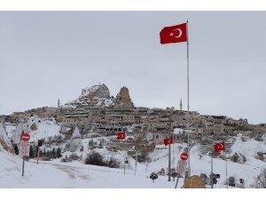 Kapadokya'da kartpostallık görüntüler