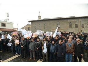 Amerika'nın Ortadoğu barış planına bir tepki de Diyarbakır'dan