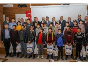 Vali Bilmez, 'Gençliğe Değer Kampı'nın kapanış törenine katıldı