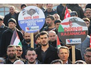 Manisa'daki STK'lardan Kudüs'e destek, Yunan vekile uyarı