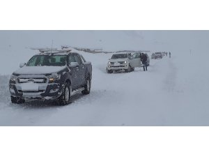 Tunceli'de yoğun kar yağışı, kapalı köy yolu 200'e ulaştı