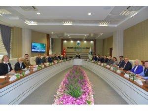 Unikop, dönem başkanlığı ilk toplantısı KAEÜ'nde yapıldı