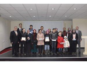 Okul Destek Projesi kapsamında başarılı öğrenciler ödüllendirildi