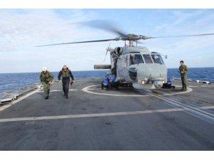 NATO Deniz Görev Grubu komutanı Fantoni'den OruçReis'e ziyaret