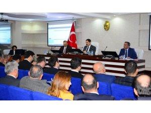 Ardahan'da 2020 Yılı 1. dönem koordinasyon kurulu toplantısı gerçekleştirildi