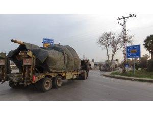 Sınır birliklerine tank ve ZPT sevkiyatı