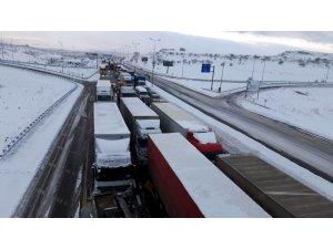Kayseri-Malatya karayolu ulaşıma kapandı