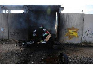 Batı Şeria'da ABD karşıtı protesto: 48 yaralı