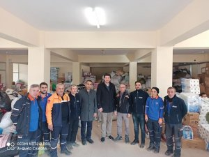 Kütahya AK Parti'den deprem bölgesine yardım