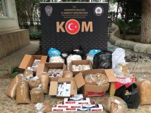 Osmaniye'de kaçak tütün operasyonu