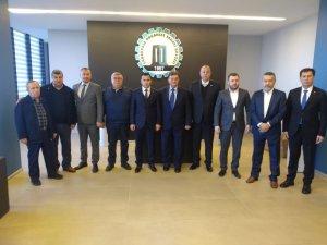 Ezine OSB'den Çanakkale OSB'ye ziyaret