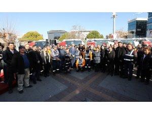 Taşerona bir yılda ödenen bedel ile belediye bünyesine 19 araç kazandırıldı