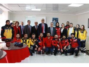 Adıyaman'da sağlıkçılar ile deprem değerlendirme toplantısı yapıldı