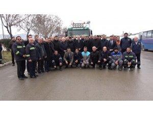 Kırıkkale'den Elazığ'a gıda yardımı