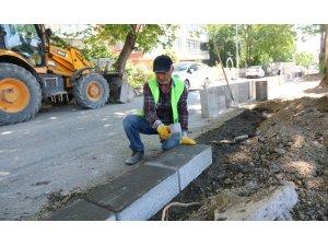 Çankaya Belediyesi'nden merdivenli yol yapımı