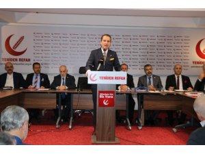"""Fatih Erbakan: """"57 Müslüman ülkenin Türkiye'nin öncülüğünde tek vücut haline getirilmesi gerek"""""""