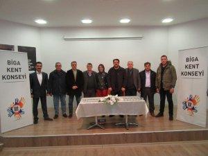 Biga Kent Konseyinde yeni yılın ilk genel kurulu yapıldı