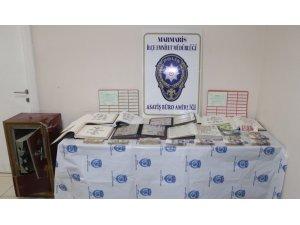 Marmaris'te milyonluk kasa hırsızları yakalandı