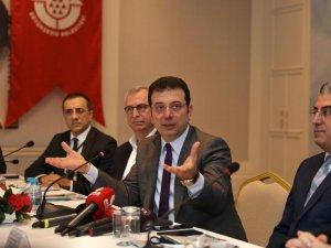 İmamoğlu'dan Kanal İstanbul açıklaması:Bu masa yıkılmıştır