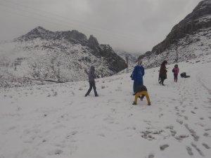 Sason'da kar yağışı nedeniyle 50 köy yolu ulaşıma kapandı