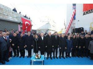 Ahmet Yesevi Sosyal Tesisi Ve Kurs Merkezi'nin açılış töreni düzenlendi