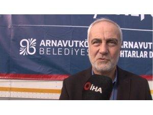 Arnavutköy'den Elazığ'daki depremzedelere yardım eli