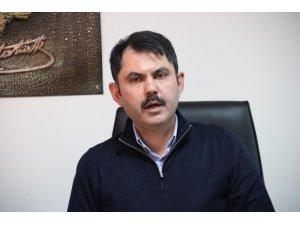 """Bakan Kurum: """"Deprem Elazığ'ın yapı stokunun yüzde 25-30'unu etkilemiş durumda"""""""