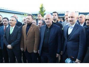 """Bakan Turan: """"Bu havaalanımızı inşallah bu yılın sonuna doğru hizmete açmayı planlıyoruz"""""""