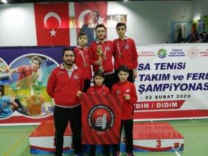Çorum Belediyesi masa tenisinde Türkiye şampiyonu oldu